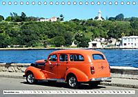 Chevy Schätzchen - 80 Jahre alte Oldtimer in Kuba (Tischkalender 2019 DIN A5 quer) - Produktdetailbild 11