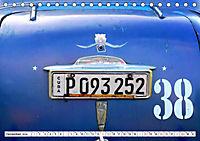 Chevy Schätzchen - 80 Jahre alte Oldtimer in Kuba (Tischkalender 2019 DIN A5 quer) - Produktdetailbild 12