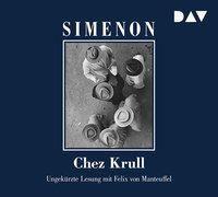 Chez Krull, 6 Audio-CDs, Georges Simenon