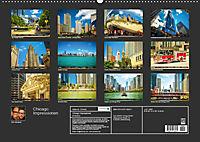 Chicago Impressionen (Wandkalender 2019 DIN A2 quer) - Produktdetailbild 13