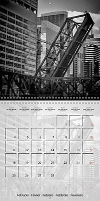 CHICAGO Monochrome Views (Wall Calendar 2019 300 × 300 mm Square) - Produktdetailbild 2