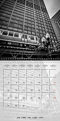 CHICAGO Monochrome Views (Wall Calendar 2019 300 × 300 mm Square) - Produktdetailbild 7
