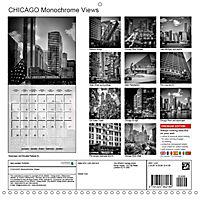 CHICAGO Monochrome Views (Wall Calendar 2019 300 × 300 mm Square) - Produktdetailbild 13