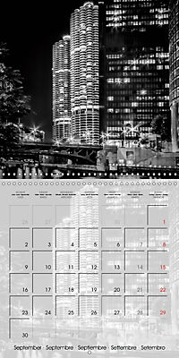 CHICAGO Monochrome Views (Wall Calendar 2019 300 × 300 mm Square) - Produktdetailbild 9