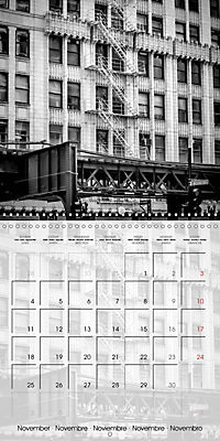 CHICAGO Monochrome Views (Wall Calendar 2019 300 × 300 mm Square) - Produktdetailbild 11