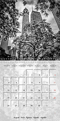 CHICAGO Monochrome Views (Wall Calendar 2019 300 × 300 mm Square) - Produktdetailbild 8