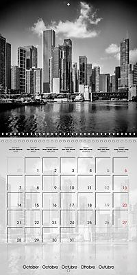 CHICAGO Monochrome Views (Wall Calendar 2019 300 × 300 mm Square) - Produktdetailbild 10