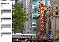 CHICAGO Stadtzentrum (Wandkalender 2019 DIN A2 quer) - Produktdetailbild 2