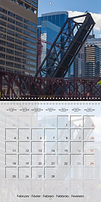 CHICAGO Urban Cityscapes (Wall Calendar 2019 300 × 300 mm Square) - Produktdetailbild 2