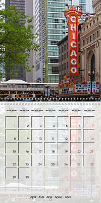 CHICAGO Urban Cityscapes (Wall Calendar 2019 300 × 300 mm Square) - Produktdetailbild 4