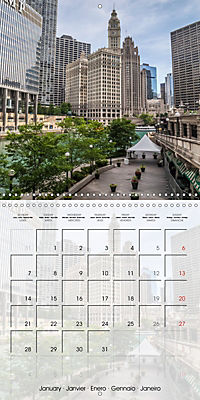 CHICAGO Urban Cityscapes (Wall Calendar 2019 300 × 300 mm Square) - Produktdetailbild 1