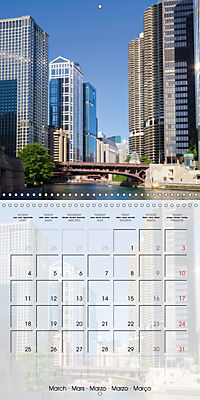 CHICAGO Urban Cityscapes (Wall Calendar 2019 300 × 300 mm Square) - Produktdetailbild 3