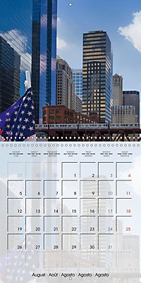 CHICAGO Urban Cityscapes (Wall Calendar 2019 300 × 300 mm Square) - Produktdetailbild 8