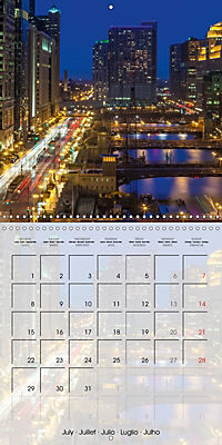 CHICAGO Urban Cityscapes (Wall Calendar 2019 300 × 300 mm Square) - Produktdetailbild 7