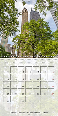 CHICAGO Urban Cityscapes (Wall Calendar 2019 300 × 300 mm Square) - Produktdetailbild 10