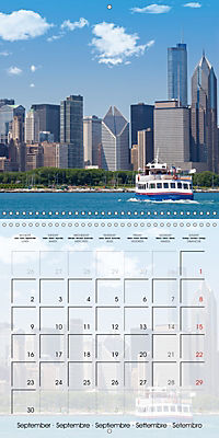 CHICAGO Urban Cityscapes (Wall Calendar 2019 300 × 300 mm Square) - Produktdetailbild 9