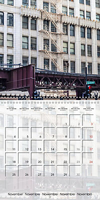 CHICAGO Urban Cityscapes (Wall Calendar 2019 300 × 300 mm Square) - Produktdetailbild 11