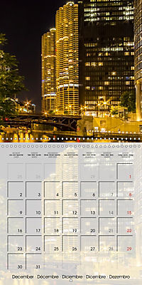 CHICAGO Urban Cityscapes (Wall Calendar 2019 300 × 300 mm Square) - Produktdetailbild 12