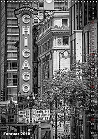 CHICAGO Vertikale Impressionen (Wandkalender 2018 DIN A3 hoch) Dieser erfolgreiche Kalender wurde dieses Jahr mit gleich - Produktdetailbild 2
