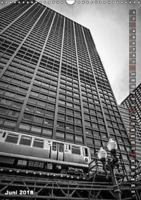 CHICAGO Vertikale Impressionen (Wandkalender 2018 DIN A3 hoch) Dieser erfolgreiche Kalender wurde dieses Jahr mit gleich - Produktdetailbild 6