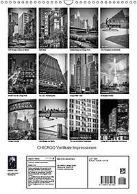 CHICAGO Vertikale Impressionen (Wandkalender 2018 DIN A3 hoch) Dieser erfolgreiche Kalender wurde dieses Jahr mit gleich - Produktdetailbild 13