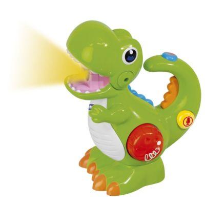 Chicco T-REX - Dino mit Stimmrekorder und Taschenlampe