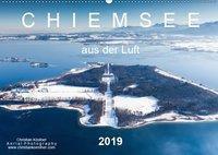 Chiemsee aus der Luft (Wandkalender 2019 DIN A2 quer), Christian Köstner