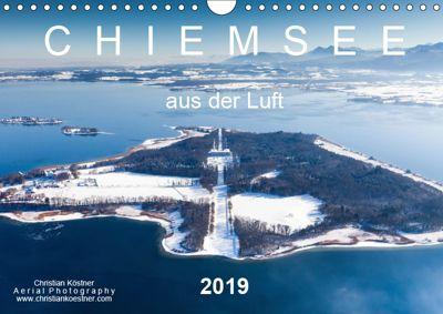 Chiemsee aus der Luft (Wandkalender 2019 DIN A4 quer), Christian Köstner