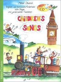 Children's Songs, m. Audio-CD, Michael Diedrich