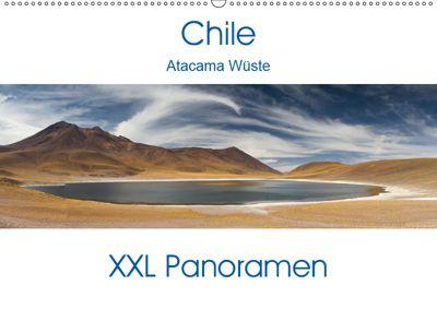 Chile Atacama Wüste - XXL Panoramen (Wandkalender 2019 DIN A2 quer), Juergen Schonnop