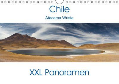 Chile Atacama Wüste - XXL Panoramen (Wandkalender 2019 DIN A4 quer), Juergen Schonnop