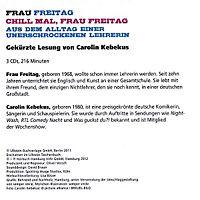 Chill mal, Frau Freitag, 3 Audio-CDs - Produktdetailbild 2