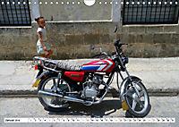 CHINA BIKES - Chinesische Motorräder in Kuba (Wandkalender 2019 DIN A4 quer) - Produktdetailbild 1