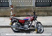 CHINA BIKES - Chinesische Motorräder in Kuba (Tischkalender 2019 DIN A5 quer) - Produktdetailbild 1