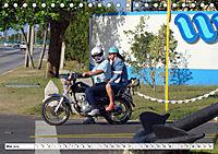 CHINA BIKES - Chinesische Motorräder in Kuba (Tischkalender 2019 DIN A5 quer) - Produktdetailbild 5