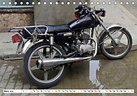 CHINA BIKES - Chinesische Motorräder in Kuba (Tischkalender 2019 DIN A5 quer) - Produktdetailbild 3