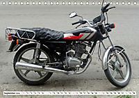 CHINA BIKES - Chinesische Motorräder in Kuba (Tischkalender 2019 DIN A5 quer) - Produktdetailbild 9