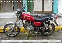 CHINA BIKES - Chinesische Motorräder in Kuba (Tischkalender 2019 DIN A5 quer) - Produktdetailbild 6