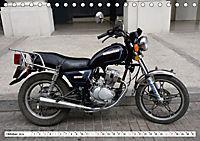 CHINA BIKES - Chinesische Motorräder in Kuba (Tischkalender 2019 DIN A5 quer) - Produktdetailbild 10