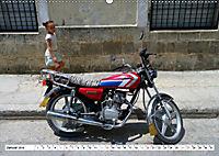 CHINA BIKES - Chinesische Motorräder in Kuba (Wandkalender 2019 DIN A2 quer) - Produktdetailbild 1
