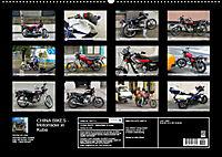 CHINA BIKES - Chinesische Motorräder in Kuba (Wandkalender 2019 DIN A2 quer) - Produktdetailbild 13