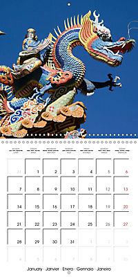China Mysterious and beautiful land (Wall Calendar 2019 300 × 300 mm Square) - Produktdetailbild 1
