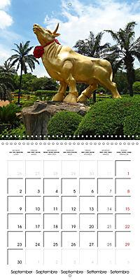 China Mysterious and beautiful land (Wall Calendar 2019 300 × 300 mm Square) - Produktdetailbild 9