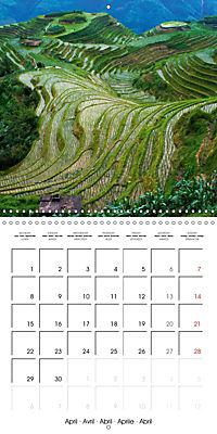 China Mysterious and beautiful land (Wall Calendar 2019 300 × 300 mm Square) - Produktdetailbild 4