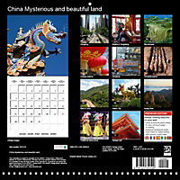China Mysterious and beautiful land (Wall Calendar 2019 300 × 300 mm Square) - Produktdetailbild 13