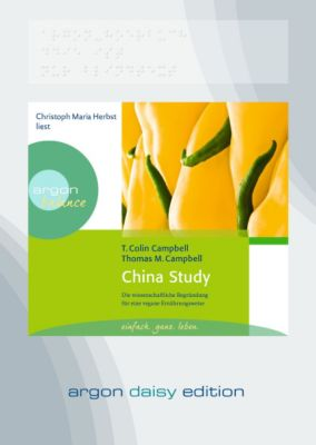 China Study, 1 MP3-CD (DAISY Edition), Colin T. Campbell, Thomas M. Campbell