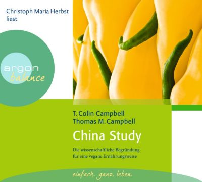 China Study, 3 Audio-CDs, Colin T. Campbell, Thomas M. Campbell