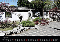 Chinese Garden Montreal Canada (Wall Calendar 2019 DIN A4 Landscape) - Produktdetailbild 7
