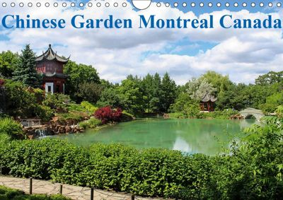 Chinese Garden Montreal Canada (Wall Calendar 2019 DIN A4 Landscape), WIDO HOVILLE