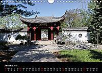 Chinese Garden Montreal Canada (Wall Calendar 2019 DIN A4 Landscape) - Produktdetailbild 1